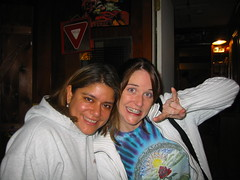 20070113 - Clint's 33rd Birthday party - 109-0973_Julie & Mandy