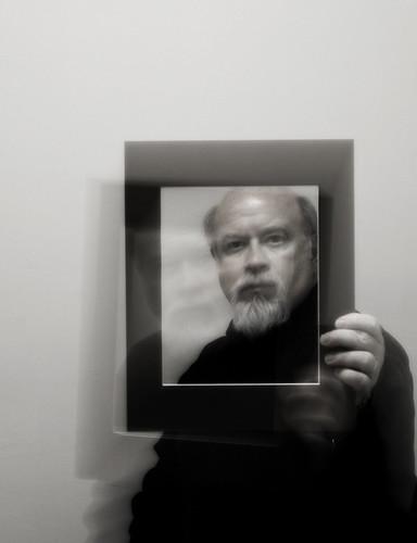 Ghostly Self Portrait