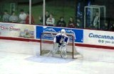 LSSU's Jeff Jakaitis watches play at the other end of the ice during the third period of Game 1.