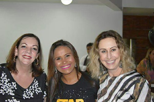Cristina Lodi Dias, Michele Ribeiro e Raquel de Carvalho