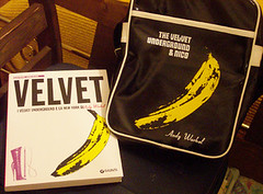 The Velvet Underground and Nico and Andy Warhol!