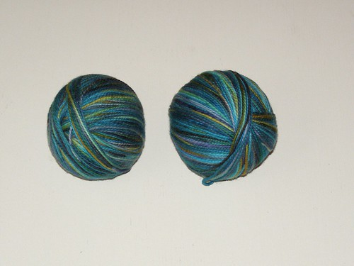 2 balls of Koigu for socks