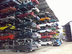 junkyard - car dump - Autofriedhof three