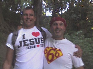 Disciple of Jesus meets 666
