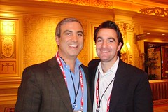 CES: CBS execs Brian Bedol (l), Quincy Smith