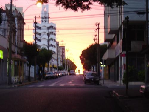 O entardecer de Araraquara (CC/Francisco Antunes)