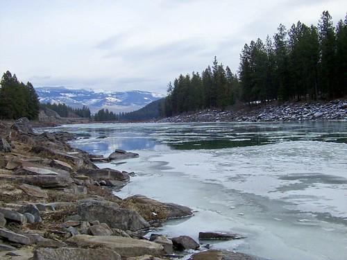Clark Fork in winter 1