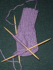 Turned my first heel!