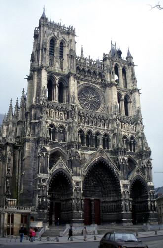 Amiens Cathedral Facade