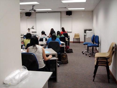 UB/SIM COM300 writing class...