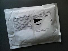 VistaPrint から名刺が届いたよ