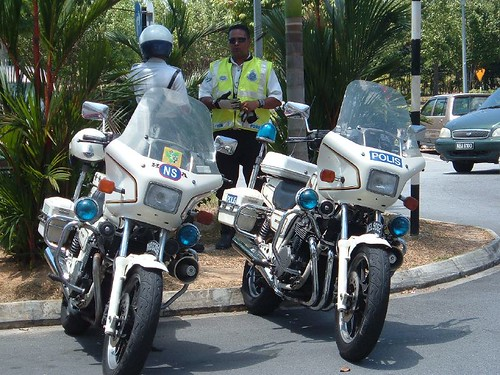 Traffic Police Bikes