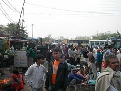 bus station, Delhi