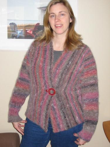 Lara sweater jacket