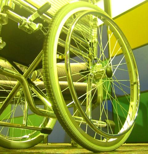 Adelaide International Airport - Wheelchair Green