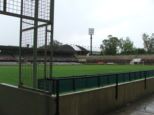 Inside Newell's stadium 2