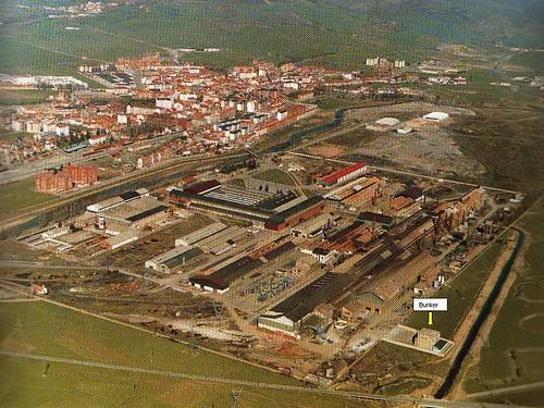 Foto aerea Reinosa. Bunker. ppt grabado como jpg