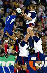 Lineout jumpers
