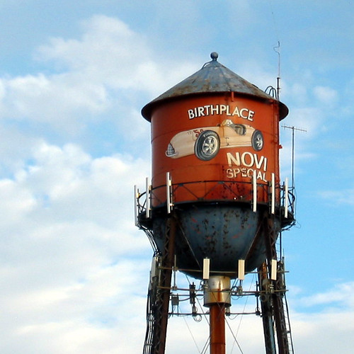 The Novi Special Water Tower Michigan In Pictures