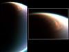 Mammoth cloud engulfing Titan's North Pole