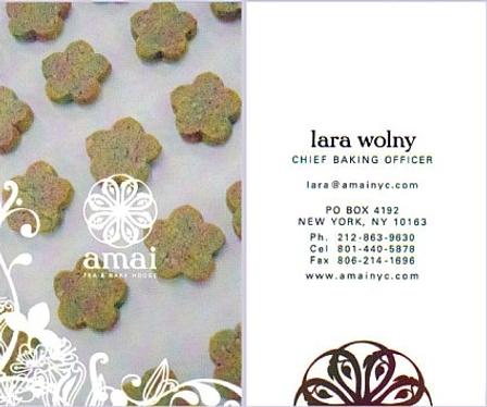 Amai Business Card