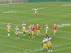 Quarterback - Wide Receiver Warmups