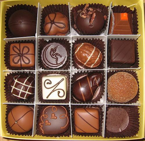 Moonstruck chocolates by eszter.