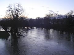 Floods in Llansantffraid 2