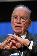 Rupert Murdoch, longtime global media leader.