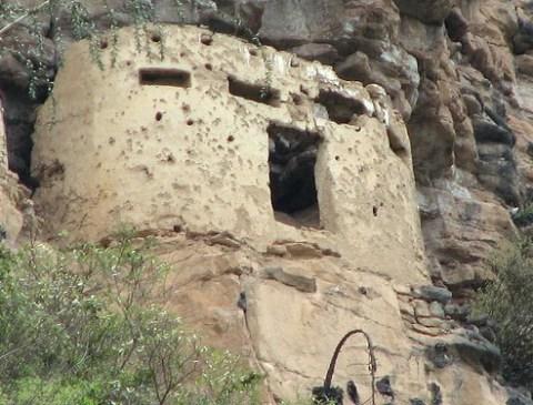 Santuario en Aya-Chaqui