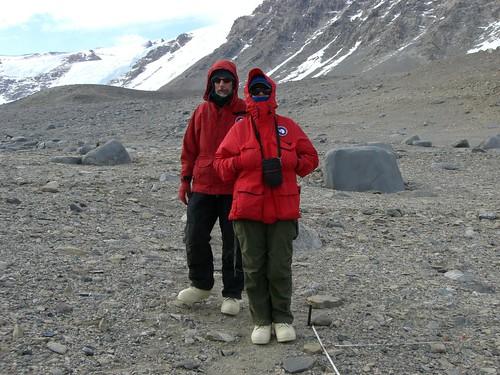 Antarctica is cold