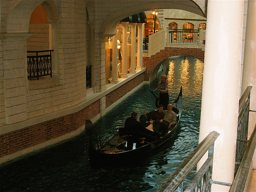 The Canal in the Venetian Hotel