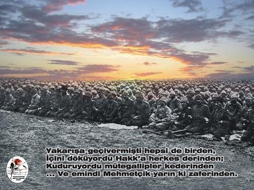 Çanakkale`de bayram namazı