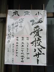 The notice of buzzar