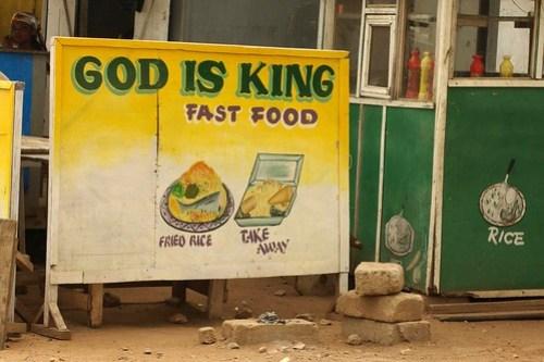 God is King Fast Food
