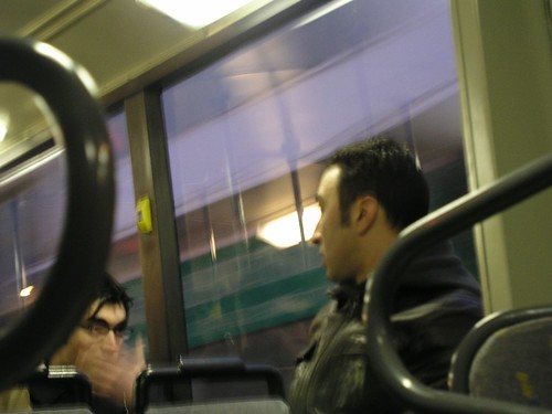 conversation on a bus