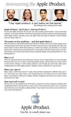Apple iProduct