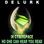 It's the last day of National Delurking Week