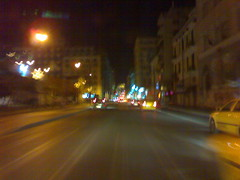Half-empty street