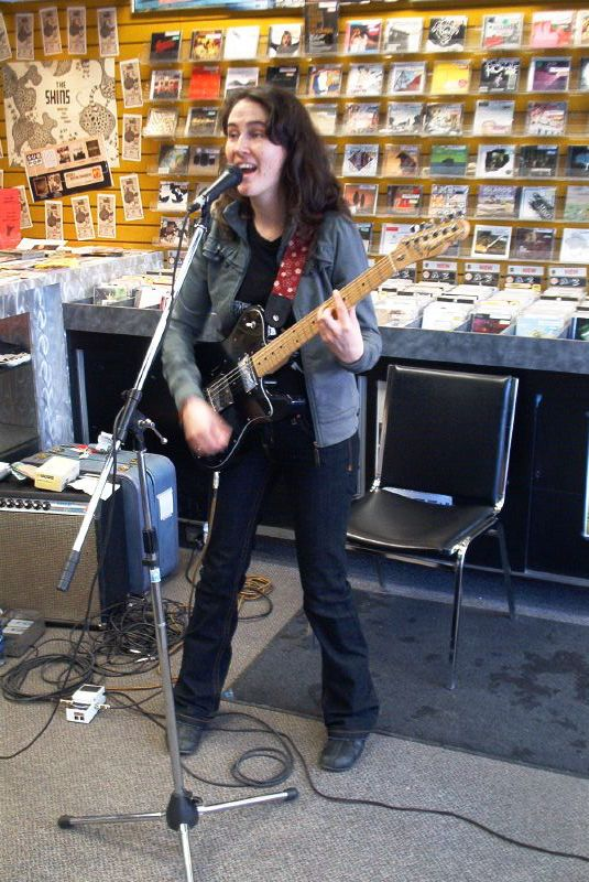 Catriona Sturton live! in-store performance at Music Trader on January 21 2007