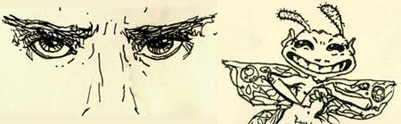 Eyes & Cornish Pixies