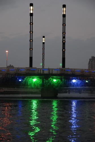 高雄愛河-橋墩