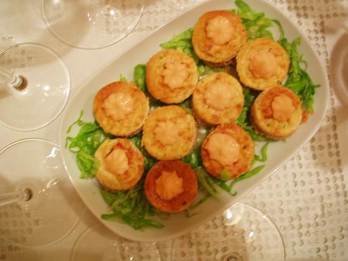 Canapés de Cheesecake de Salmón