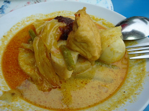 First Meal in Singapore: Lontong breakfast @ Sixth Ave