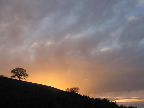 Sunset, 1/16/2007