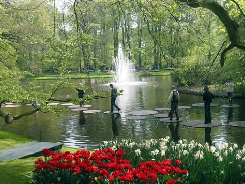 Amsterdam Tulip gardens
