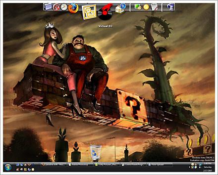 desktop levitate