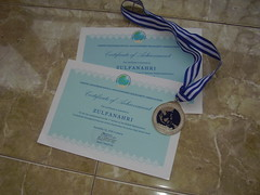 my medals..