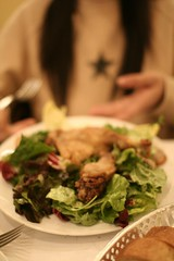 Confit de Canard in Salad, L'Express