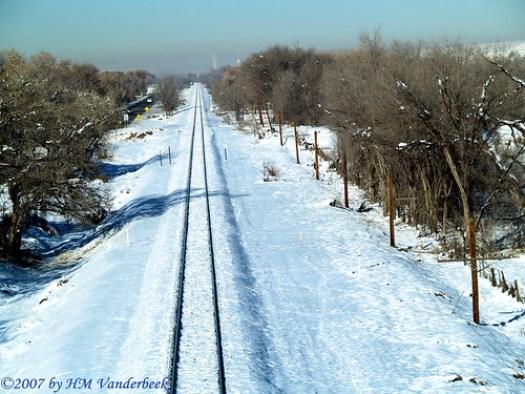 Straight as Train Tracks